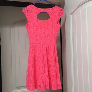Candie's Dresses - Bright Coral/Pink Candies Dress